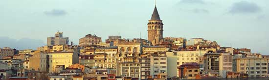 MA-7023 İstanbul---Galata-Kulesi
